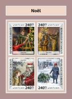 DJIBOUTI 2017 ** Merry Christmas Weihnachten Noel M/S - OFFICIAL ISSUE - DH1746 - Weihnachten