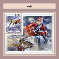 DJIBOUTI 2017 ** Merry Christmas Weihnachten Noel S/S - OFFICIAL ISSUE - DH1746 - Weihnachten