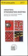 Croatia 2017 / Prospectus, Leaflet, Brochure / Croatian Ethnographic Heritage / Traditional Costume Details - Croatia