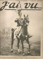 Militaria Revue J'ai Vu.... N°28 Du 29 Mai 1915 L'Italie Et La Guerre Le Roi Victor-Emmanuel - Libri