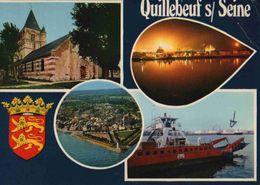 CPM  Quillebeuf Sur Seine - Other Municipalities