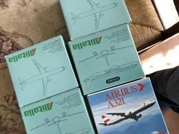 SCHABAK SCALA 1:600 ALITALIA  AIRBUS 321 - Altri