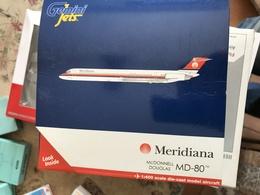 GEMINI JET 1:400 MERIDIANA MD 82 - Gioielli & Orologeria