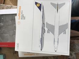 HERPA 1:500 LUFTHANSA BOEING 747-800 - Gioielli & Orologeria