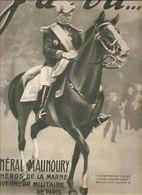 Militaria Revue J'ai Vu.... N°52 Du 13 Novembre 1915 Général Manoury Le Héros De La Marne Gouverneur Militaire De Paris - Bücher