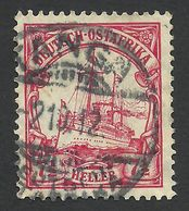 German Ostafrika, 7 1/2 H. 1906, Sc # 33, Mi # 32, Used, Tanga. - Colony: German East Africa