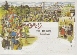 CPM Reproduction D'une Carte Gruss Von Der Kerb Kesselstadt - Germania