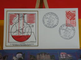 Luxe Outre Mer CFA > Donneurs De Sang Bénévoles Des PTT > (974) Saint Denis> 8.5.1972 > FDC 1er Jour Luxe - FDC
