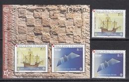 """Croatia """" EUROPA / SHIP / AIRPLANE """" 2005 MNH - Croatia"""