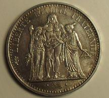 1965 - France - 10 FRANCS, Hercule, Argent, Silver, KM 932, Gad 813 - K. 10 Francs