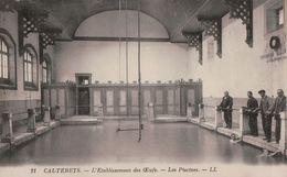 2410A  CAUTERETS   1928  TIMBRE  ECRITE     VERSO - Cauterets