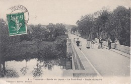 Thouarcé Bord Du Layon Le Pont Neuf Route D'Angers - Thouarce