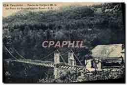 CPA Dauphine Route De Corps A Mens Le Pont Du Sautet Sur Le Drac - Non Classificati