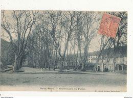 34 SAINT PONS PROMENADE DU FOIRAL CPA BON ETAT - Saint-Pons-de-Thomières
