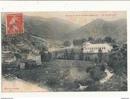 34 ENVIRONS DE SAINT PONS LE MARTINET CPA BON ETAT - Saint-Pons-de-Thomières