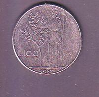 ITALIA 1987 100 Lire - 1946-… : République