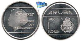 Aruba - 1 Florin 1986 (BU - 326,220 Ex.) - [ 4] Colonies