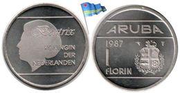 Aruba - 1 Florin 1987 (BU - 221,650 Ex.) - [ 4] Colonies