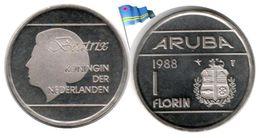 Aruba - 1 Florin 1988 (BU - 566,500 Ex.) - [ 4] Colonies