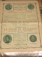 Programme Concert Musique Hazebrouck 1904 - Programmes
