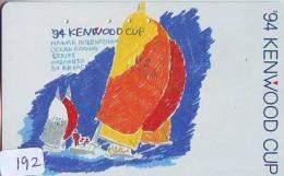 Télécarte HAWAII Sur JAPON - HAWAII Related (192)   Telefonkarte Phonecard Japan -  '94 KENWOOD CUP - Paysages