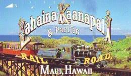 Télécarte HAWAII Sur JAPON - HAWAII Related (199)   Telefonkarte Phonecard Japan - - Paysages