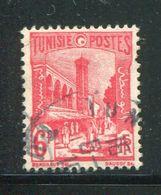 TUNISIE- Y&T N°290A- Oblitéré - Tunisie (1888-1955)