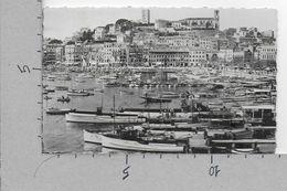 CARTOLINA VG FRANCIA - CANNES - Le Port Et Le Mont Chevalier - 9 X 14 - ANN. 195? - Cannes