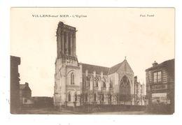 CPA 14 VILLERS Sur MER  L' Eglise Peu Commune - Villers Sur Mer