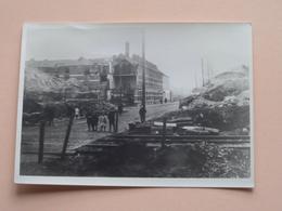 Vernieling SPOORWEGVIADUCT Zwijnaardsesteenweg ( Copie / Repro ) Voir Photo ( Zie Foto's ) ! - Guerre, Militaire