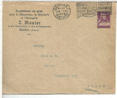 SUIZA ENTERO POSTAL 1919 J MAULER RELOJ JOYAS JEWLERY CLOCK GENEVE - Relojería