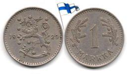 Finlande - 1 Markka 1929 - Finlandia