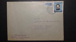 Germany - 1952 - Mi:DE 155, Sn:DE 691, Yt:DE 41 - On Envelope - Look Scan - Cartas
