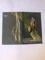 Calendarietto Litografica Doyen Marchisio Torino 1937 - Calendari