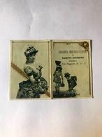 Calendarietto Drogheria Merceria E Liquori Baietti Bologna 1895 - Non Classificati
