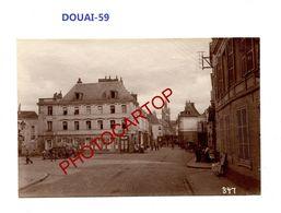 DOUAI-Commerce-Estaminet De La Petite Place-PHOTO Mate All.-Cliche 347-Inf. Regt.182-GUERRE 14-18-1 WK-59-Militaria- - Douai