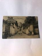 Cartolina Antica Via Di Rivoli Circa Anno 1300 Viaggiata 1911 - Italie