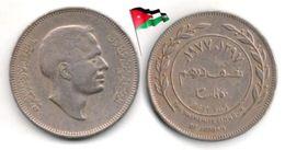 Jordanie - 50 Fils 1977 - Jordan