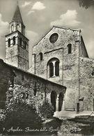 Aquileia (Udine, Friuli V. Giulia) Facciata Della Basilica Con Bifora, Facade De La Basilique Avec La Fenetre A Colonne - Udine