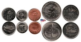 Malaysie - Small Set 2007 (1-50 Cents) - Malaysie