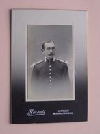 Soldat / Soldier / Soldaat ( Cabinet Photo SERENI Bordeaux +/- 14,5 X 10 Cm. Zie / Voir Foto's ) ! - Guerre, Militaire