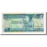 Billet, Éthiopie, 5 Birr, 2006, KM:47d, SPL+ - Ethiopie