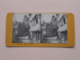 MONT ST. MICHEL France ( Stereo Photo +/- 16,5 X 8,5 Cm. Zie / Voir Foto's ) ! - Photos Stéréoscopiques