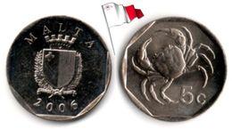 Malte - 5 Cents 2006 (UNC) - Malta