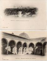 KAIROUAN - 2 CPA - Mosquée Du Barbier - Cimetière Et Mosquée Du Barbier  ...(102030) - Other Cities