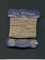 WW2 Bobine De Fil De Lin écru 15m - Période 1930/1960 - Agache (Lille) Fil à Coudre Crespel - WWII - Equipement