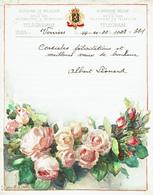 Télégramme En Couleur De 1933 De La Régie Des Télégraphes  & Téléphones De Belgique - Félicitation Pour Un Mariage(T59) - Mariage