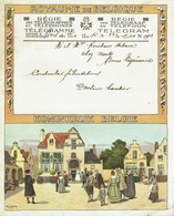Télégramme En Couleur De 1933 De La Régie Des Télégraphes  & Téléphones De Belgique - Félicitation Pour Un Mariage (T36) - Mariage