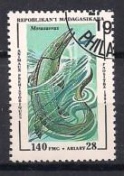 YT N° 1340 - Oblitéré - Animaux Préhistoriques - Madagascar (1960-...)