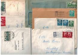 14 Lettres Années 1955/58 - Sarre